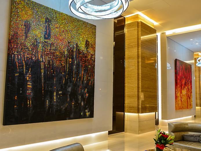 arabic gallery kempinski hotel