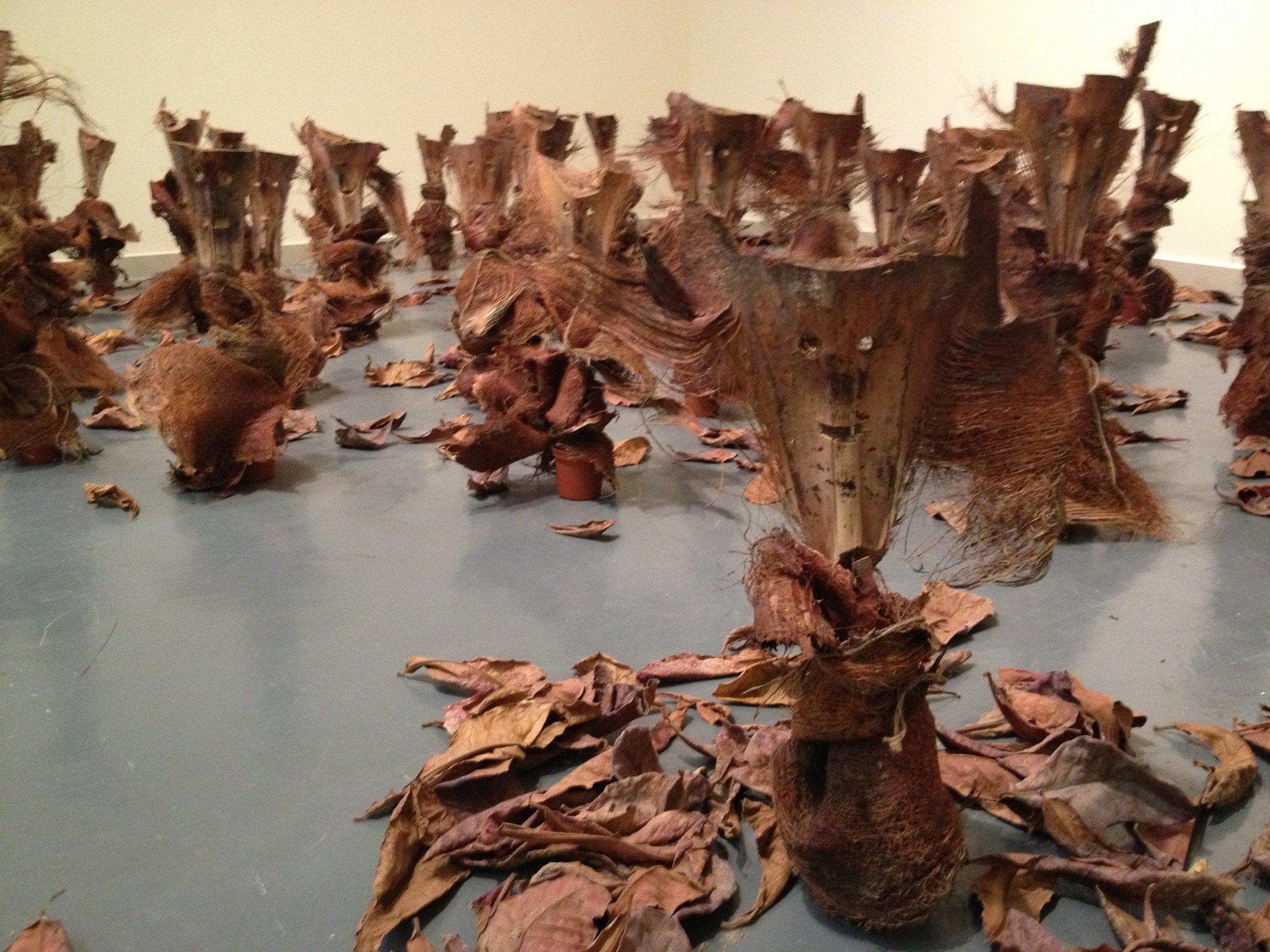 Wooden Dolls by Huda Saeed Saif