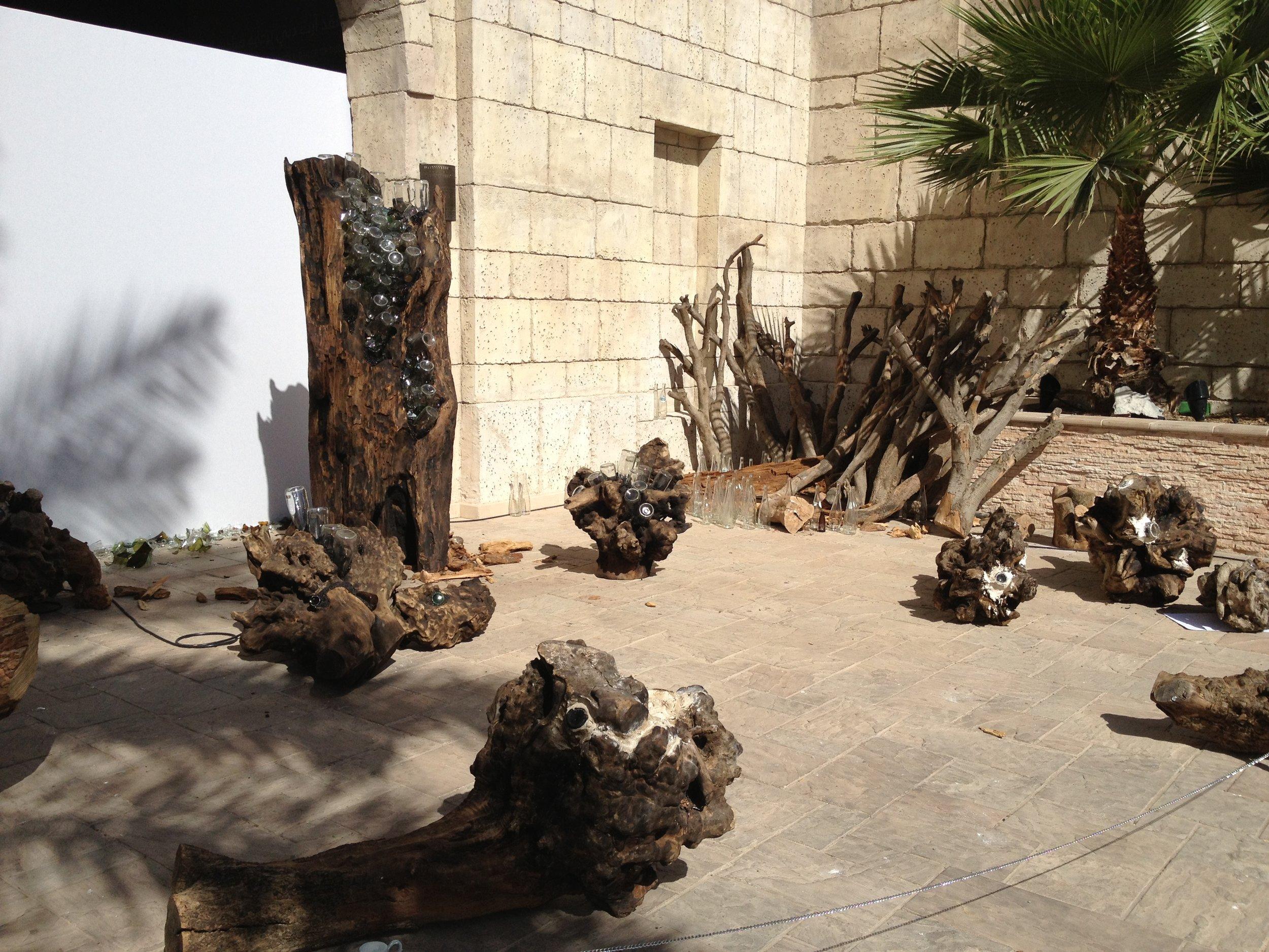 Final installation in situ at Art Dubai 2013