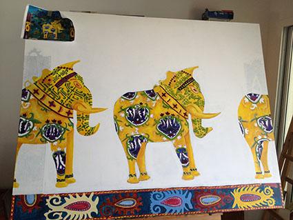 Work in progress by Kate Toledo