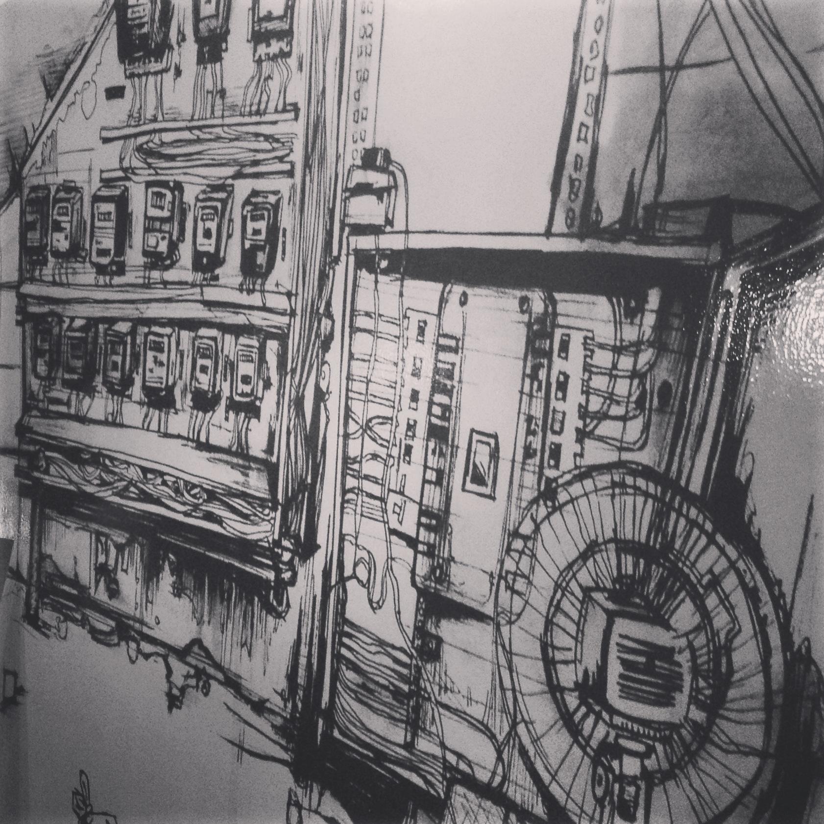 Sketch by Fathima Mohuiddin