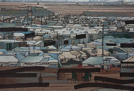 Familiar Landscape by Jill Thomas Whatley