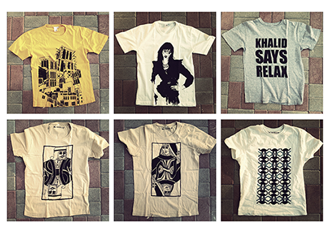 T-shirts by Khalid Mezaina from Krossbreed collection