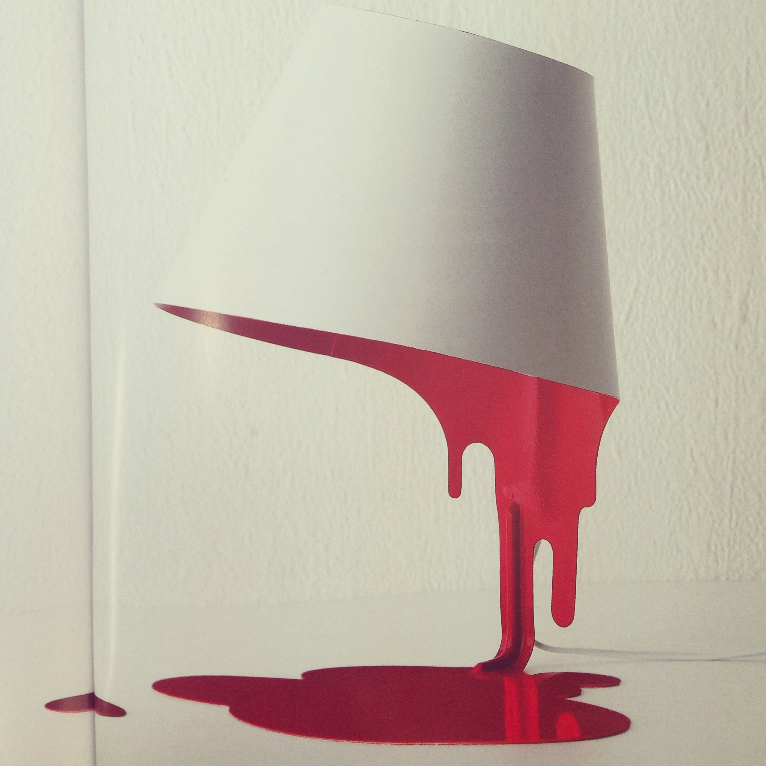 Kouichi Okamoto's Liquid Lamp is somewhat sinister in appearance, and seems to be melting before your eyes