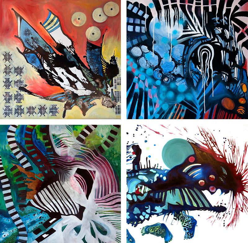 Kathryn Wilson art prints from Capsule Arts