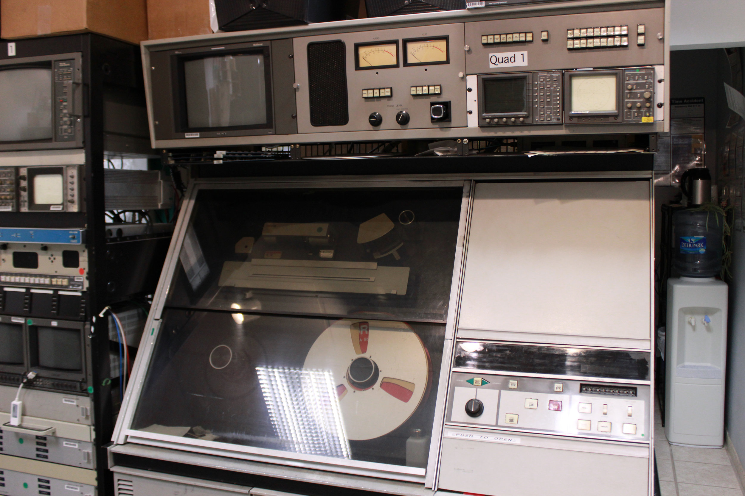 "Ampex AVR-1 2"" Quad Reel to Reel Video Machine"