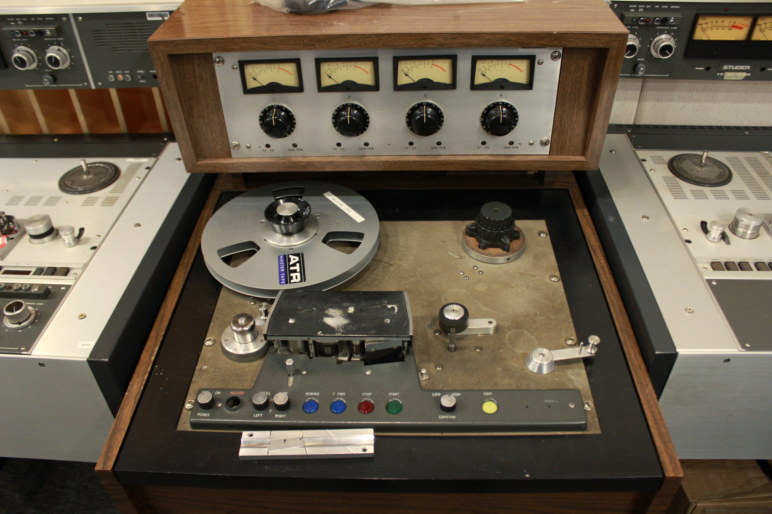 "Scully 4 Track 1/2"" 3-Track Analog Tape Machine"