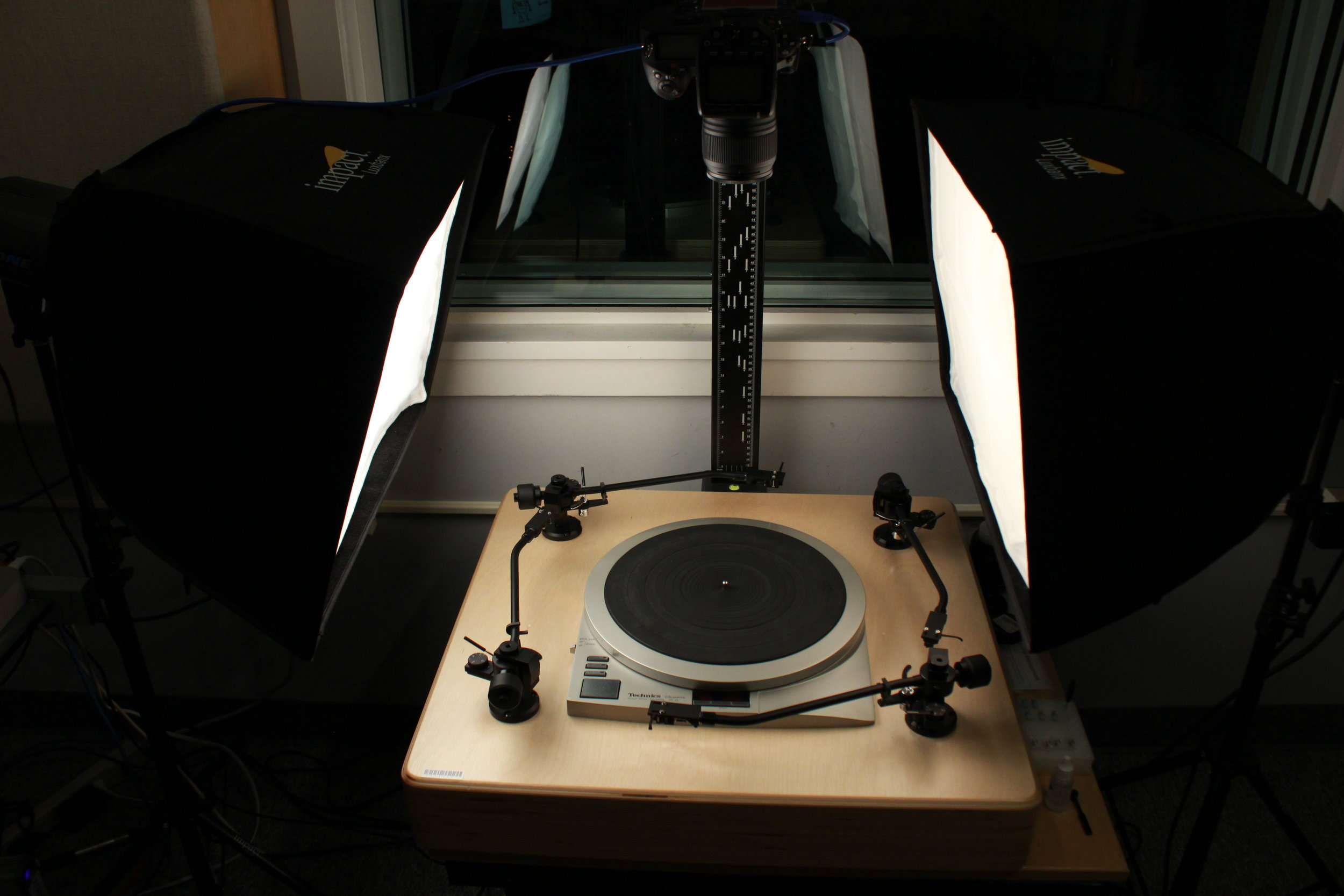 Custom 4 Tone Arm Disc Transfer Station with Photo Station