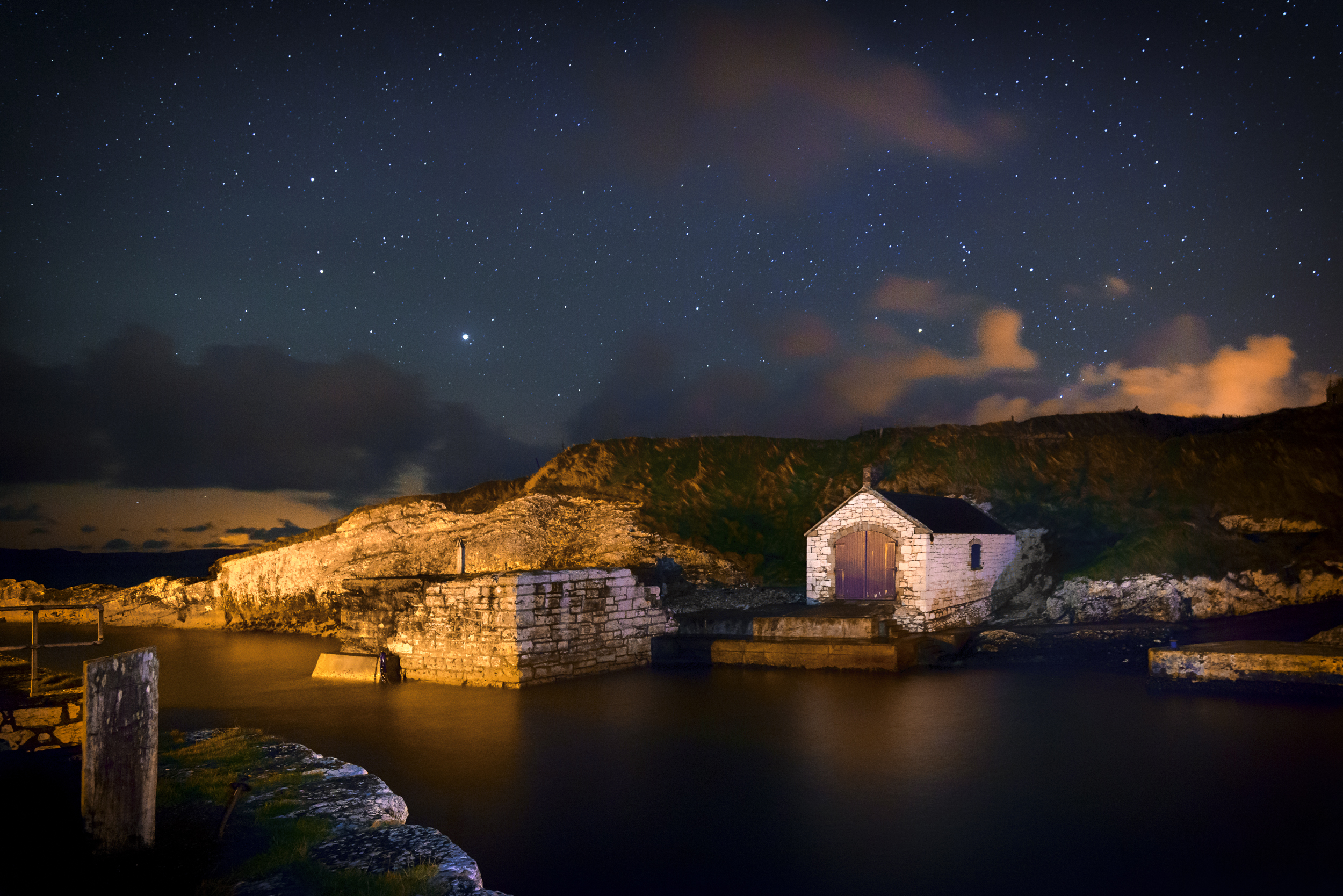 Boathouse Under the Stars, Ballintoy