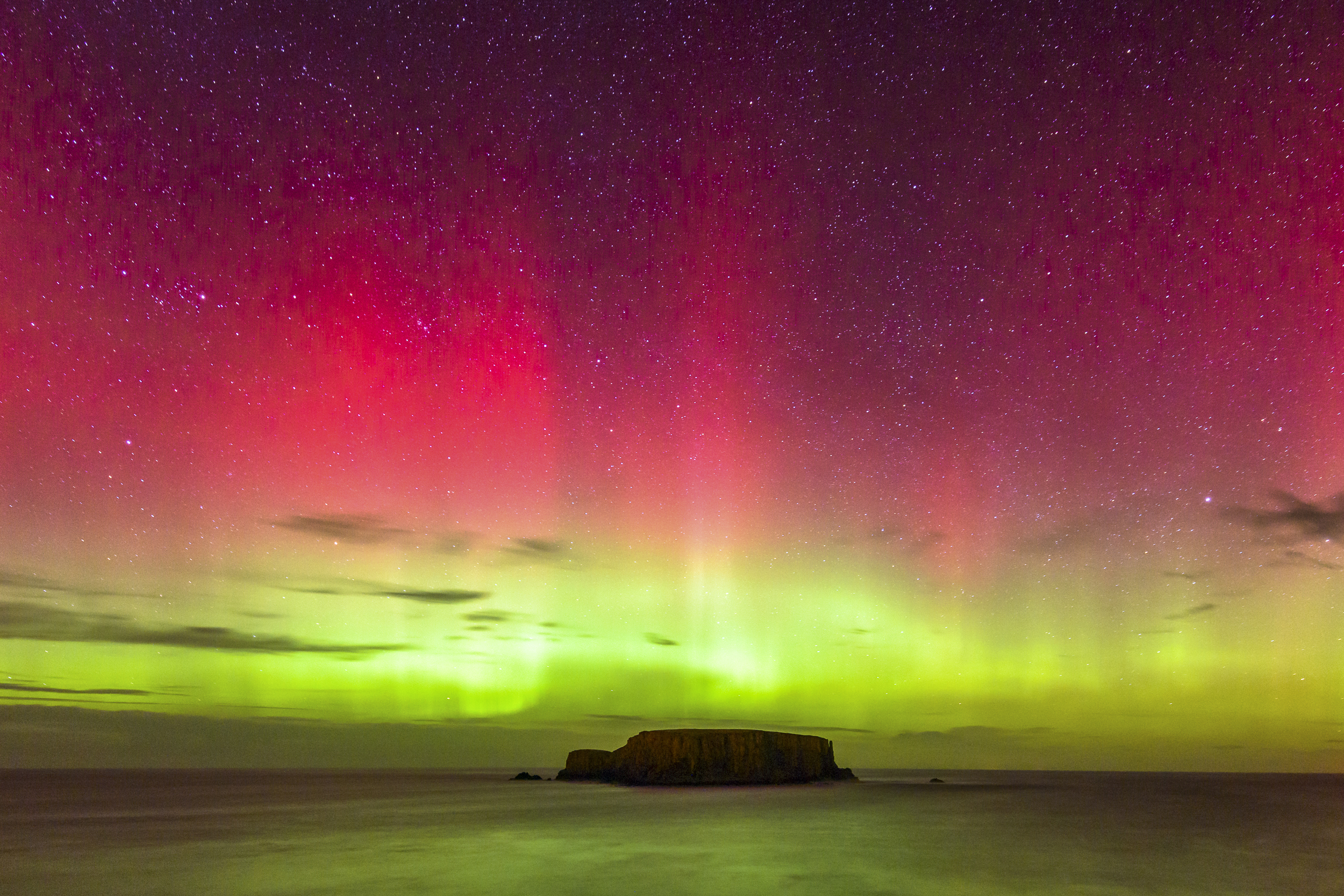 Sheep Island Aurora