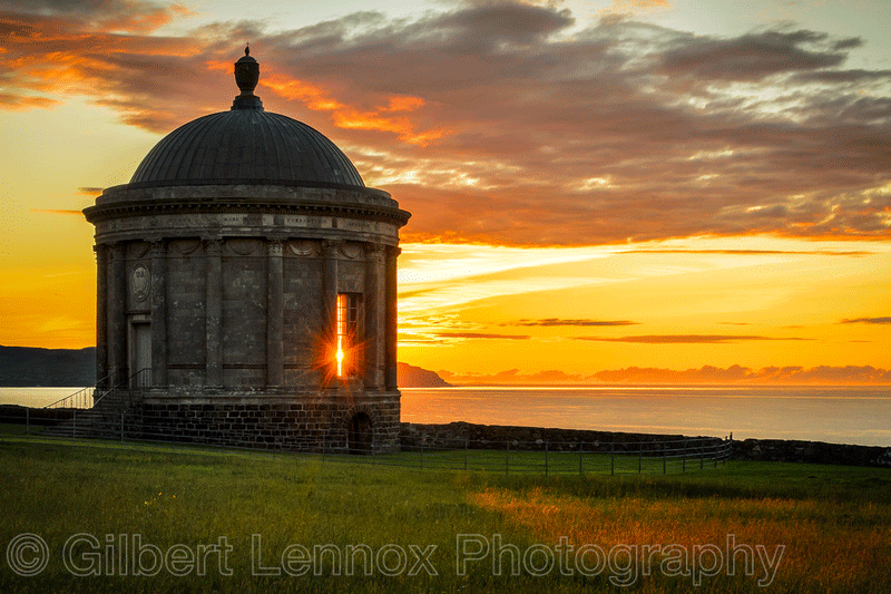 Musseden Temple Castlerock Northern Ireland by Gilbert Lennox