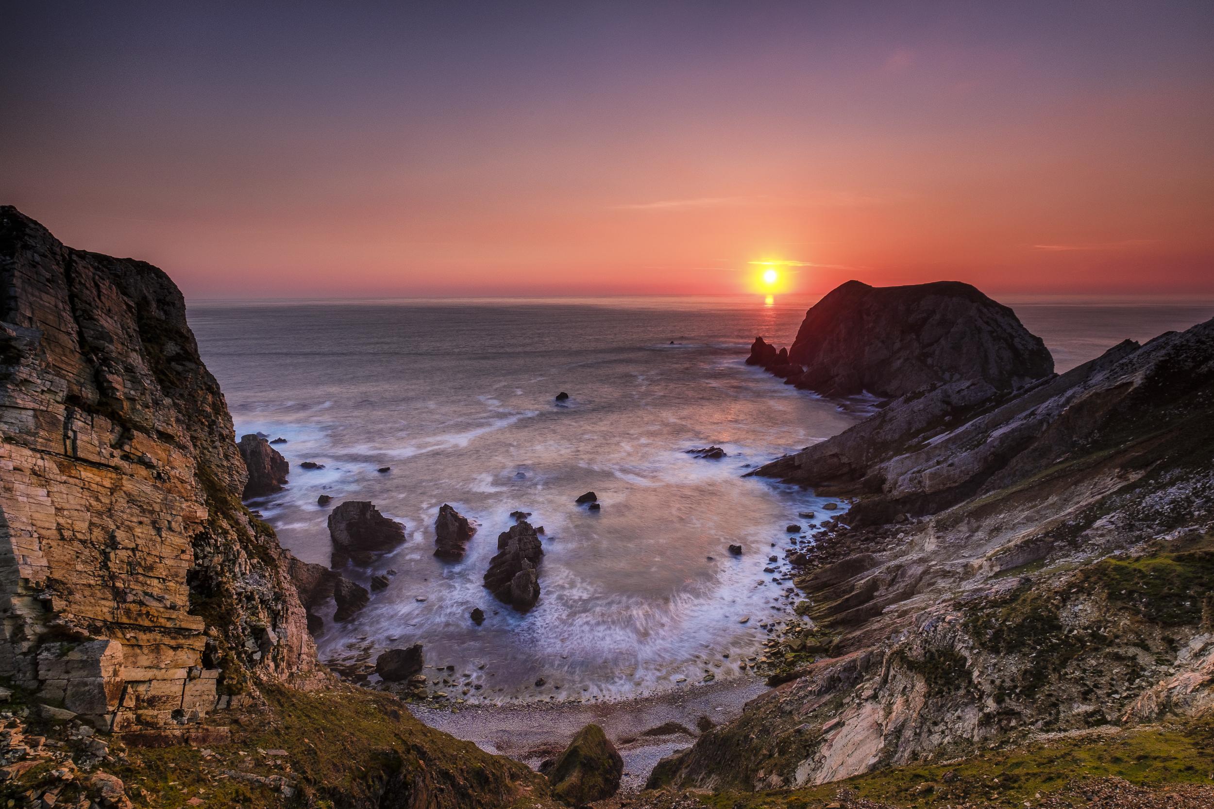 An Port Sunset