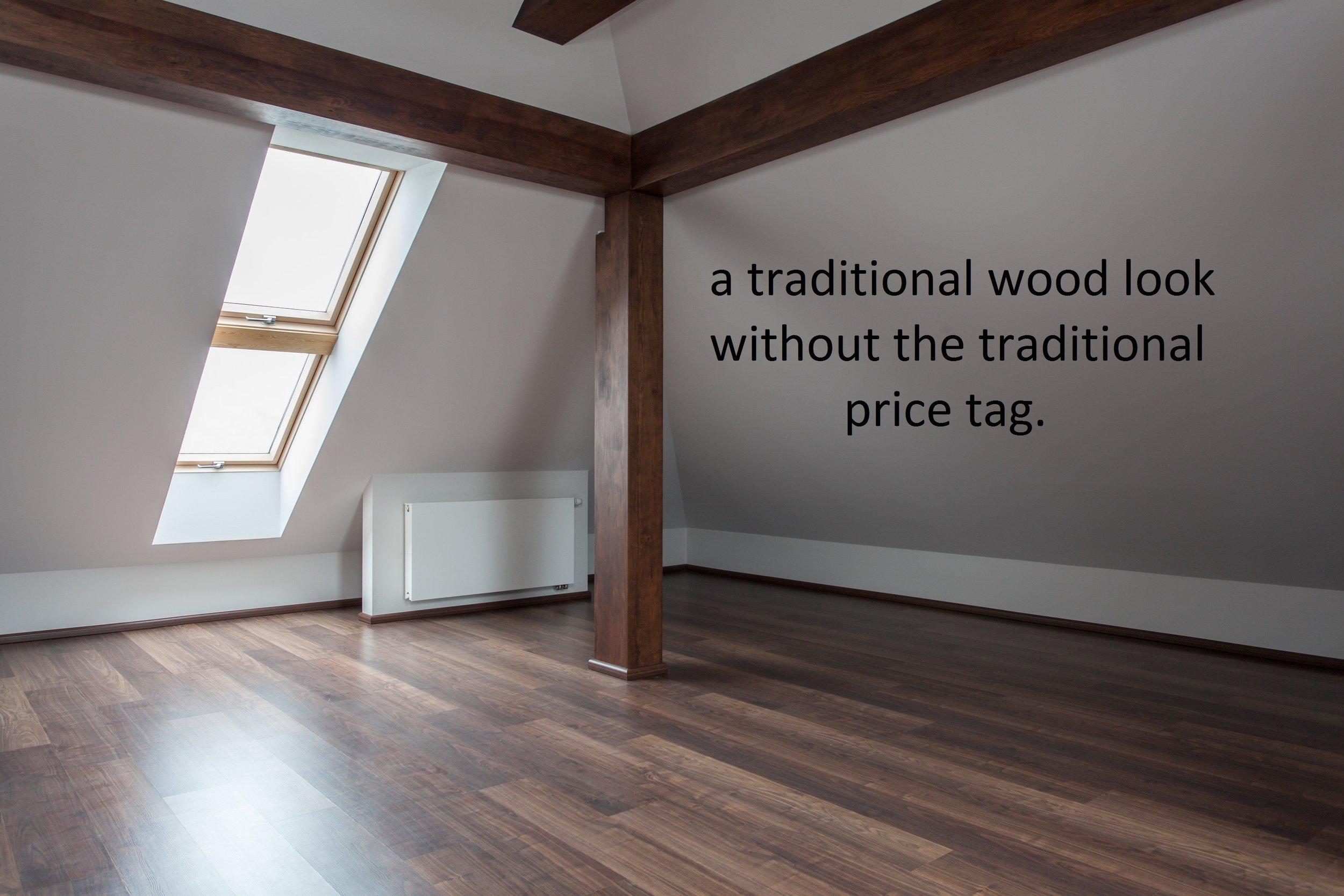 wood look vinyl attic space.jpg