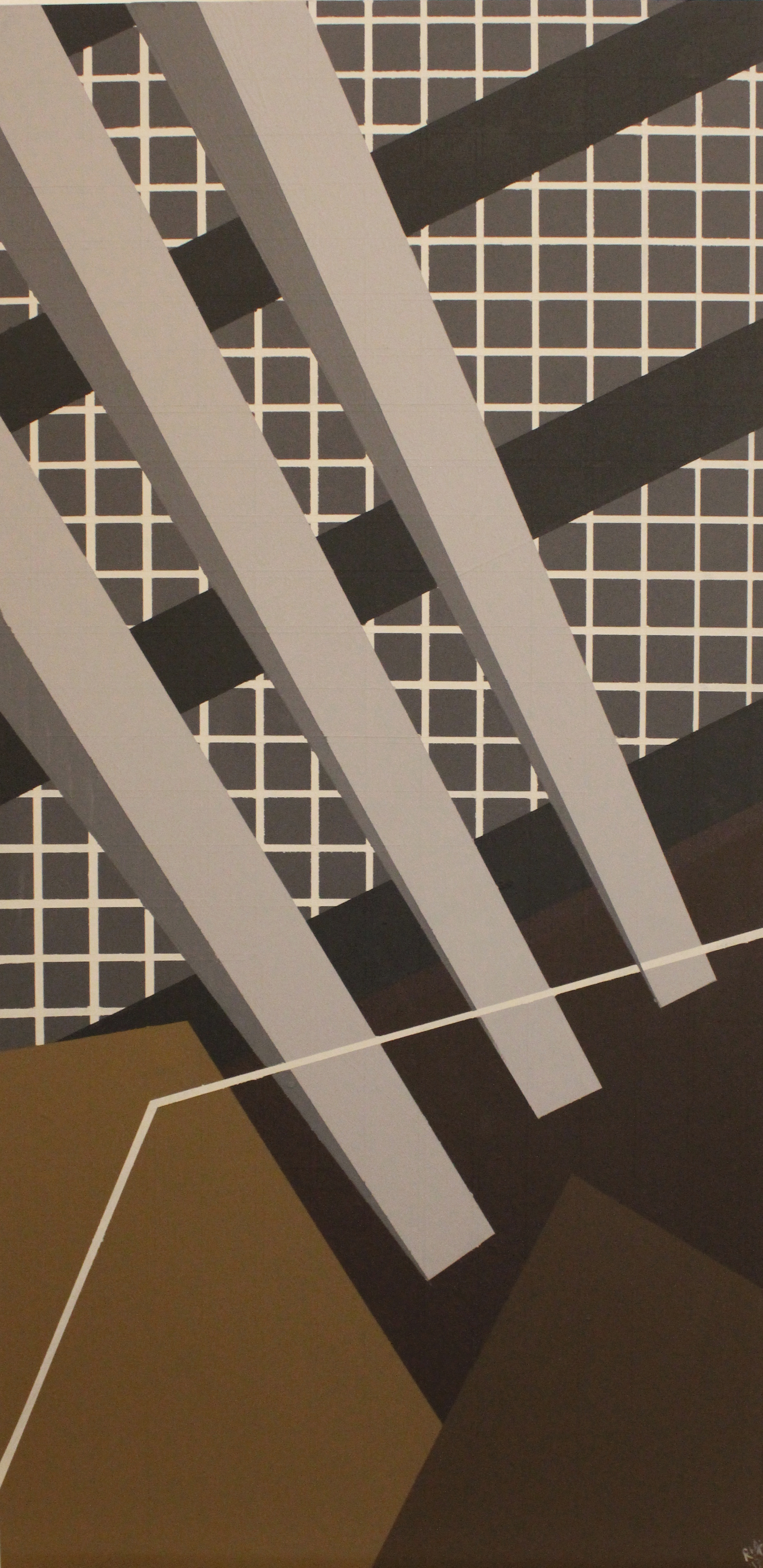 Under railway bridge (2017)