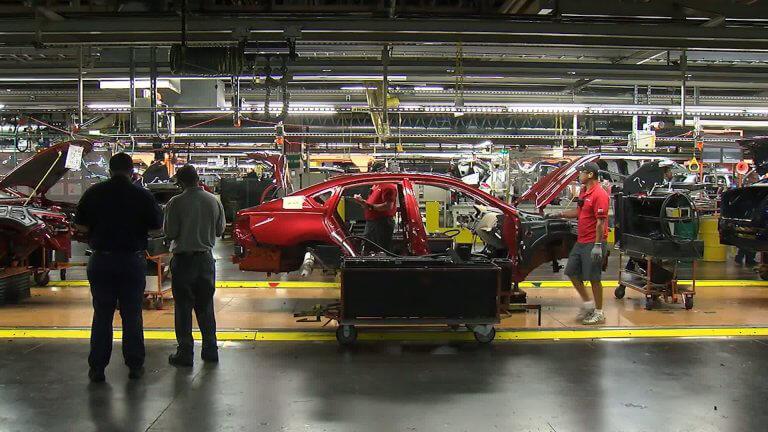 vehicle factory / plant