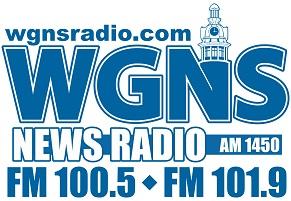 WGNS Radio Logo