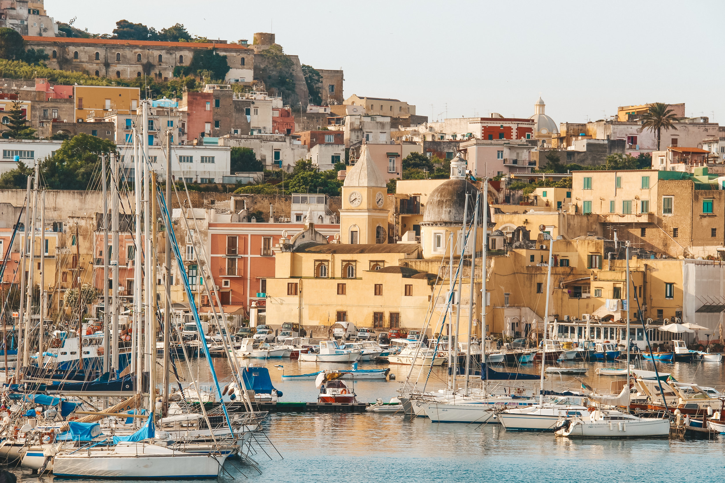 Know Before You Go - Plan to visit Procida & Ischia (2 nights); Capri (2 nights); Positano (2 nights); Amalfi (1-2 hours); Ravello (1 night); and Naples & Pompeii (1 night before/after flight).