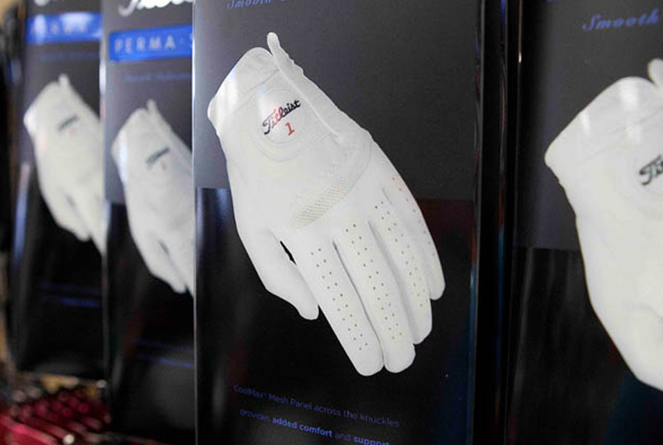 Gloves - Protect yourselves from blisters with gloves that last. Footjoy, Titleist, Mizuno, Callaway, and NIKE.