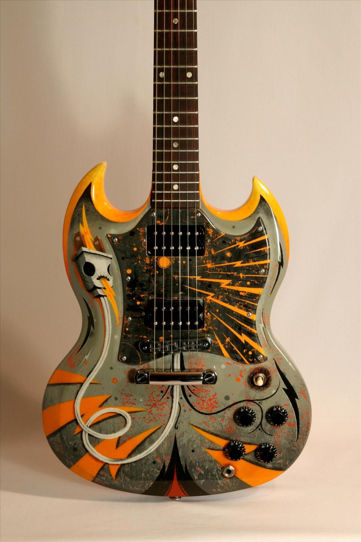 Electrocution Gibson Custom SG