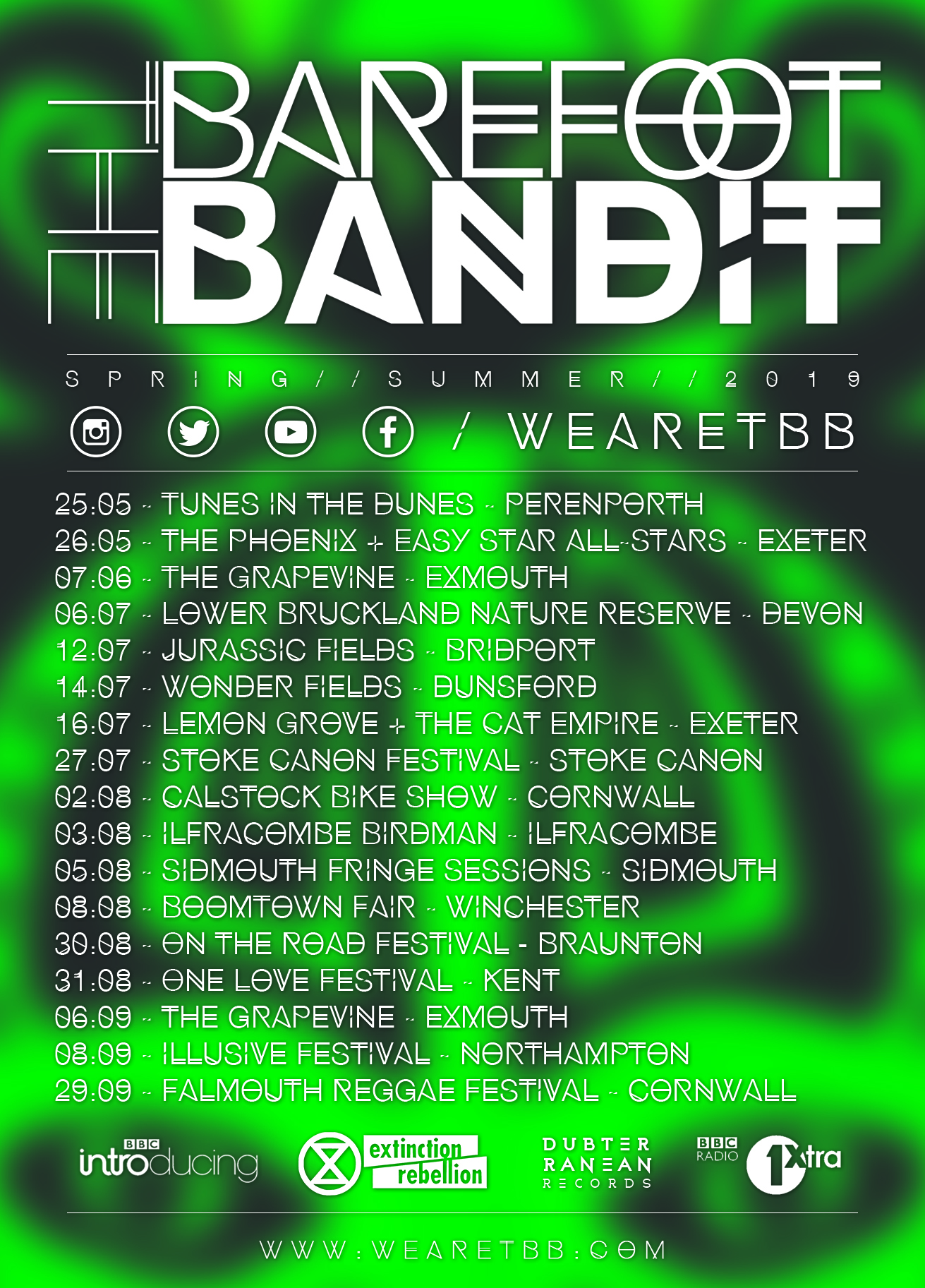 Check out our Spring/Summer Tour dates and come along to a show soon!