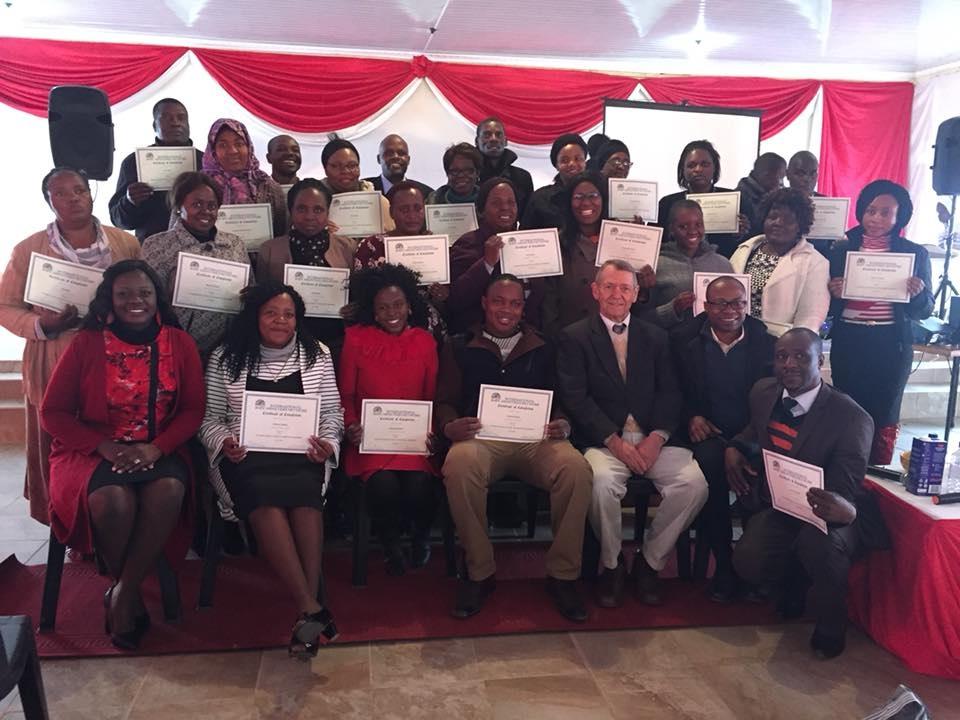 Graduates in Zimbabwe!