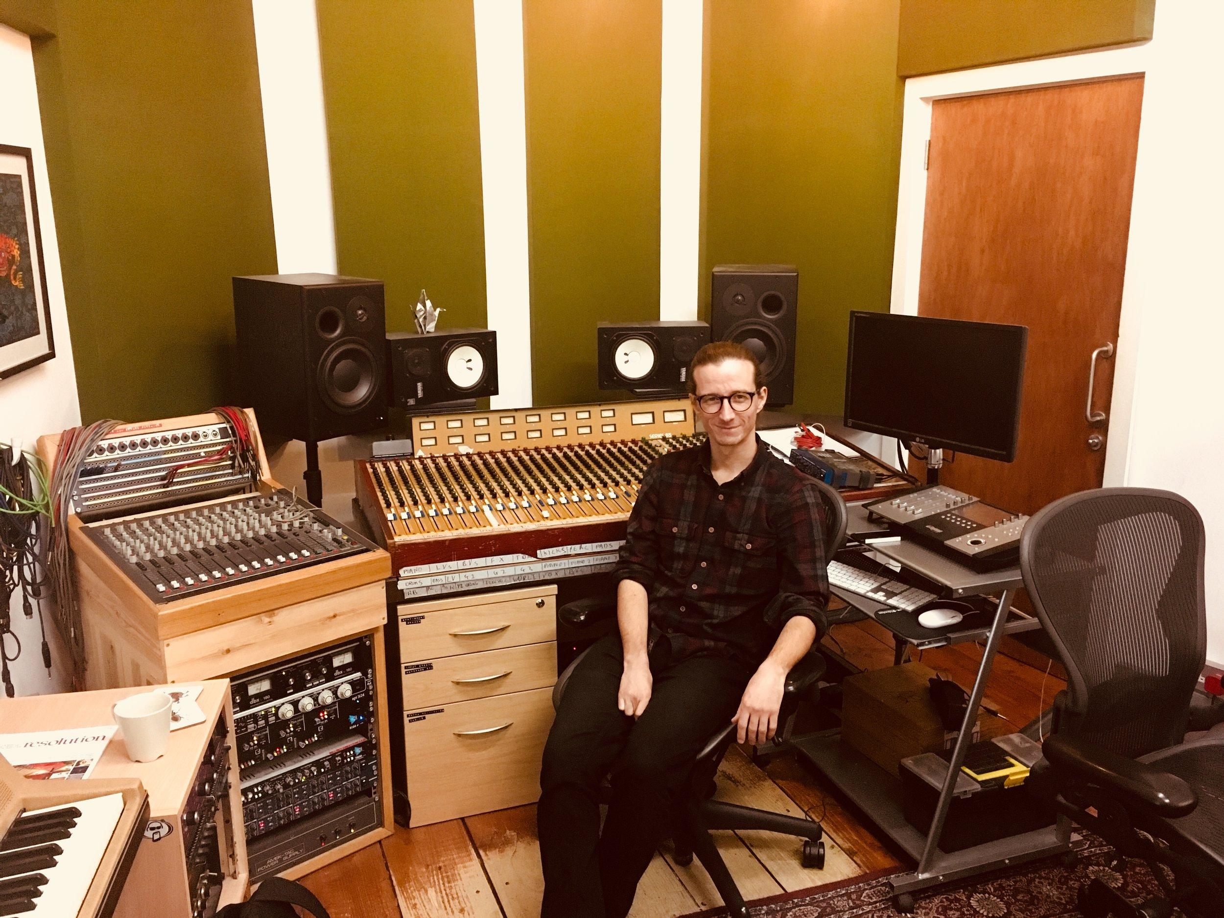Dan at Urchin Studios
