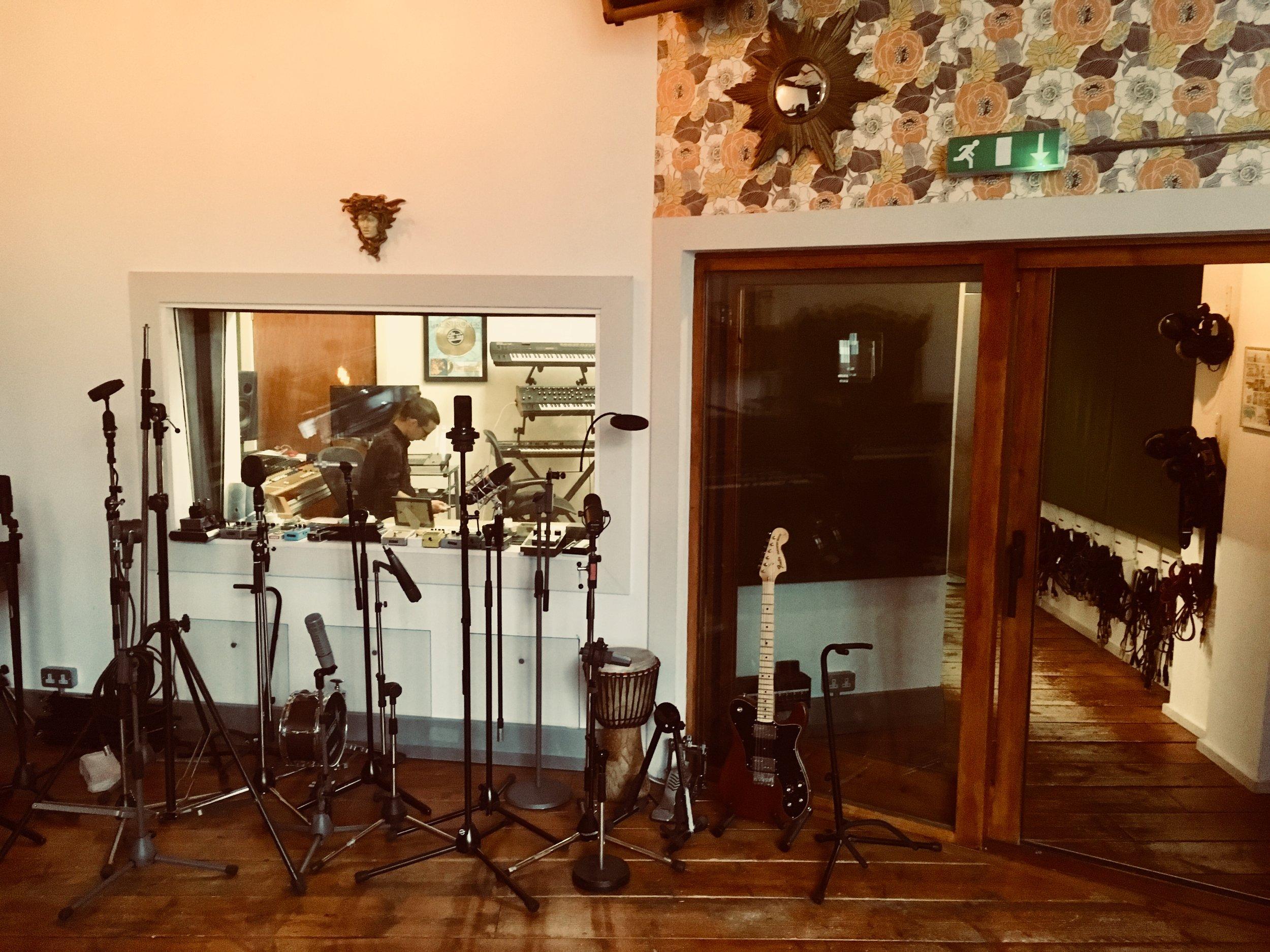 Part of Urchin Studios Live Room