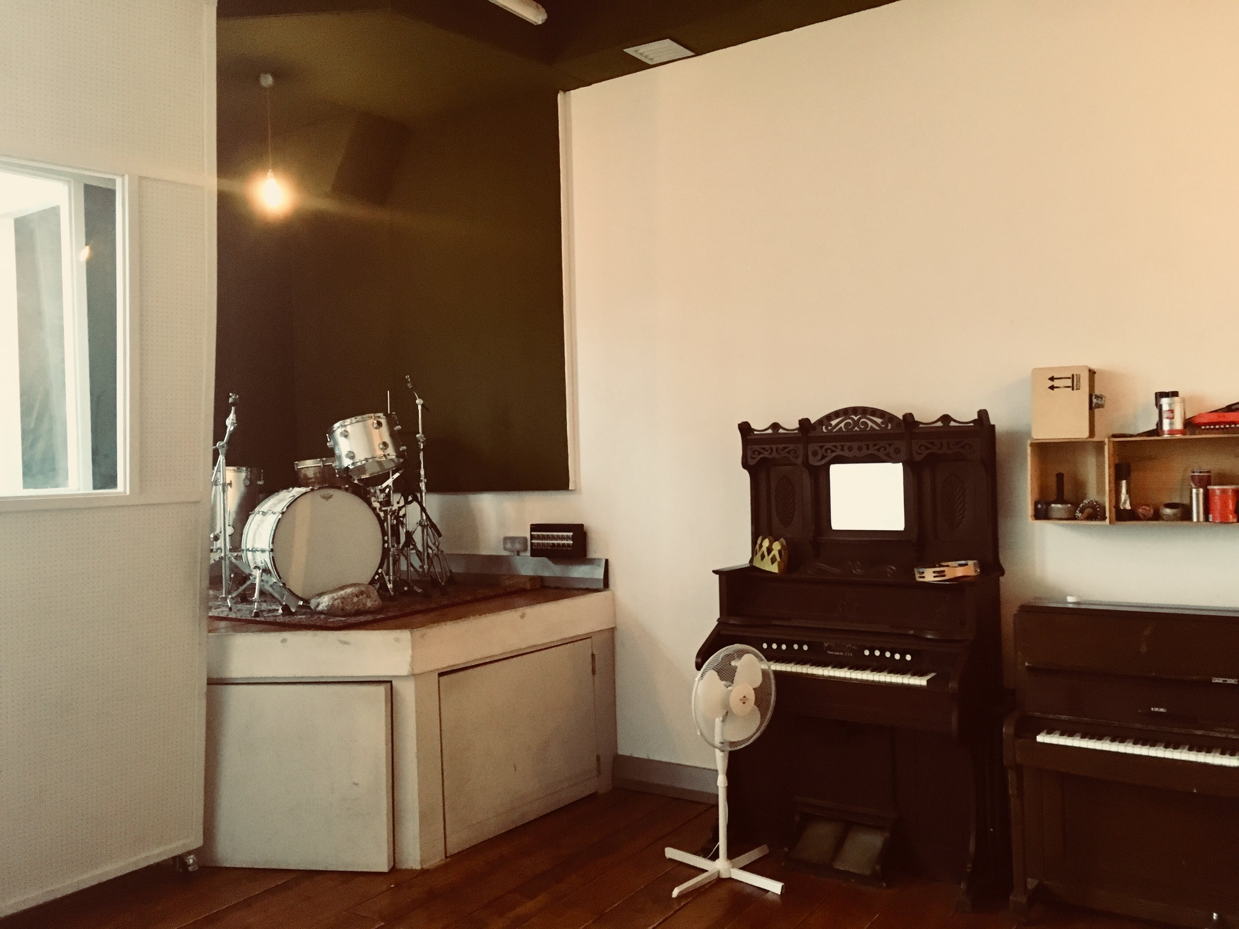 Part of Urchin Studios Live Room