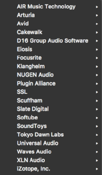 My Plugin-List. Fairly small, no?