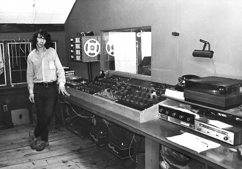 Ethan's first console build back in 1972. Photo by Kevin Byron