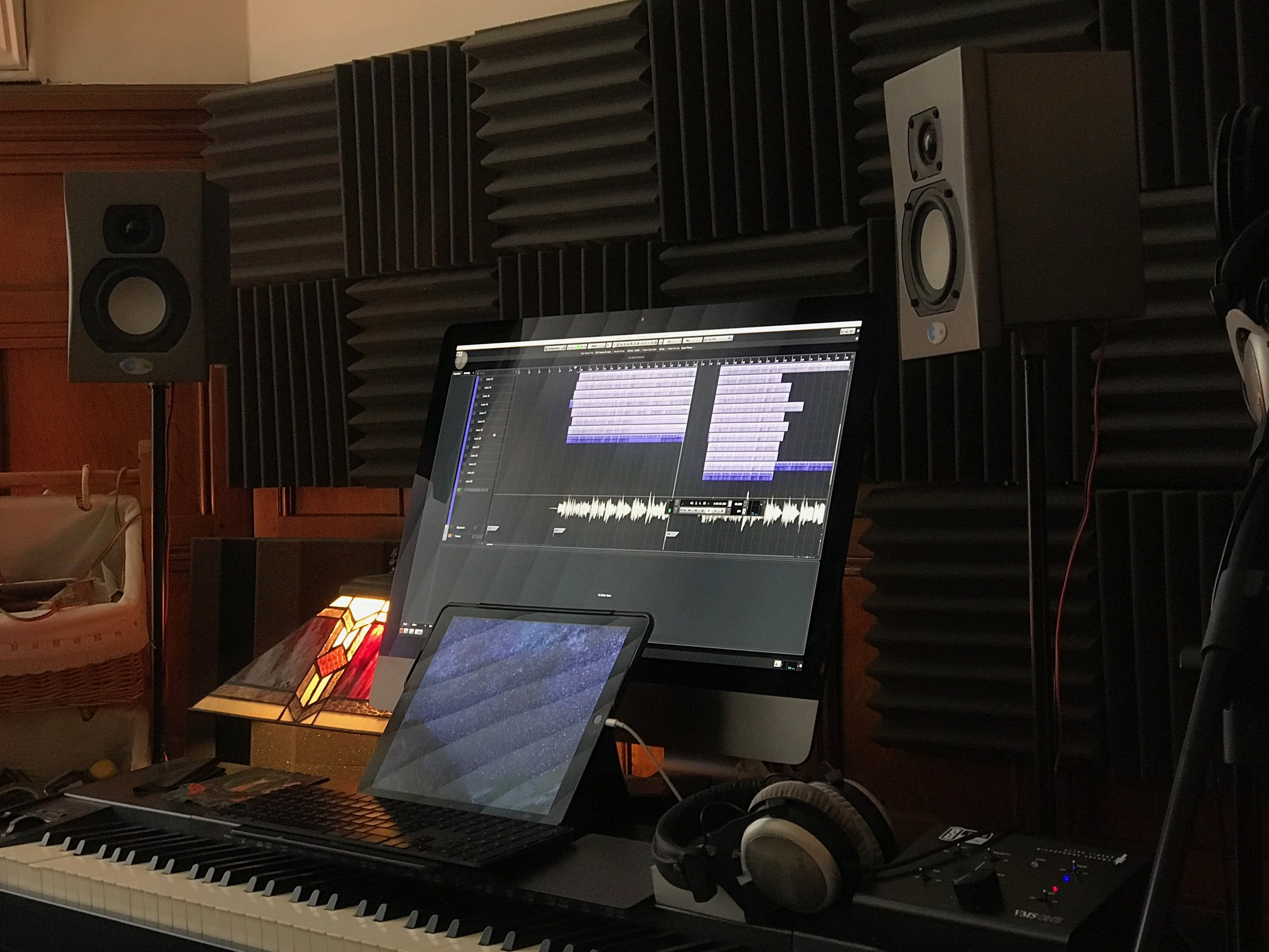 Dan's studio