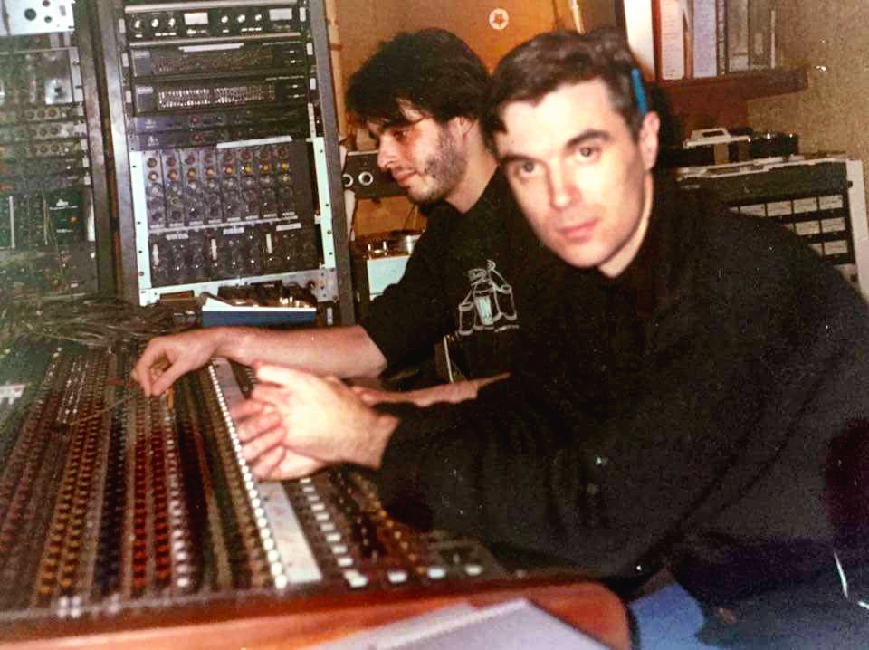 TLA & David Byrne of The Talking Heads (Unique Recording 1984)