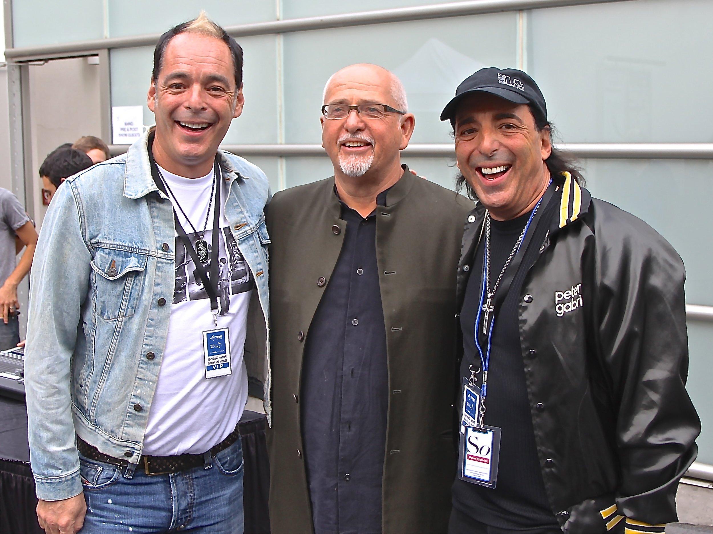 TLA, Peter Gabriel & CLA