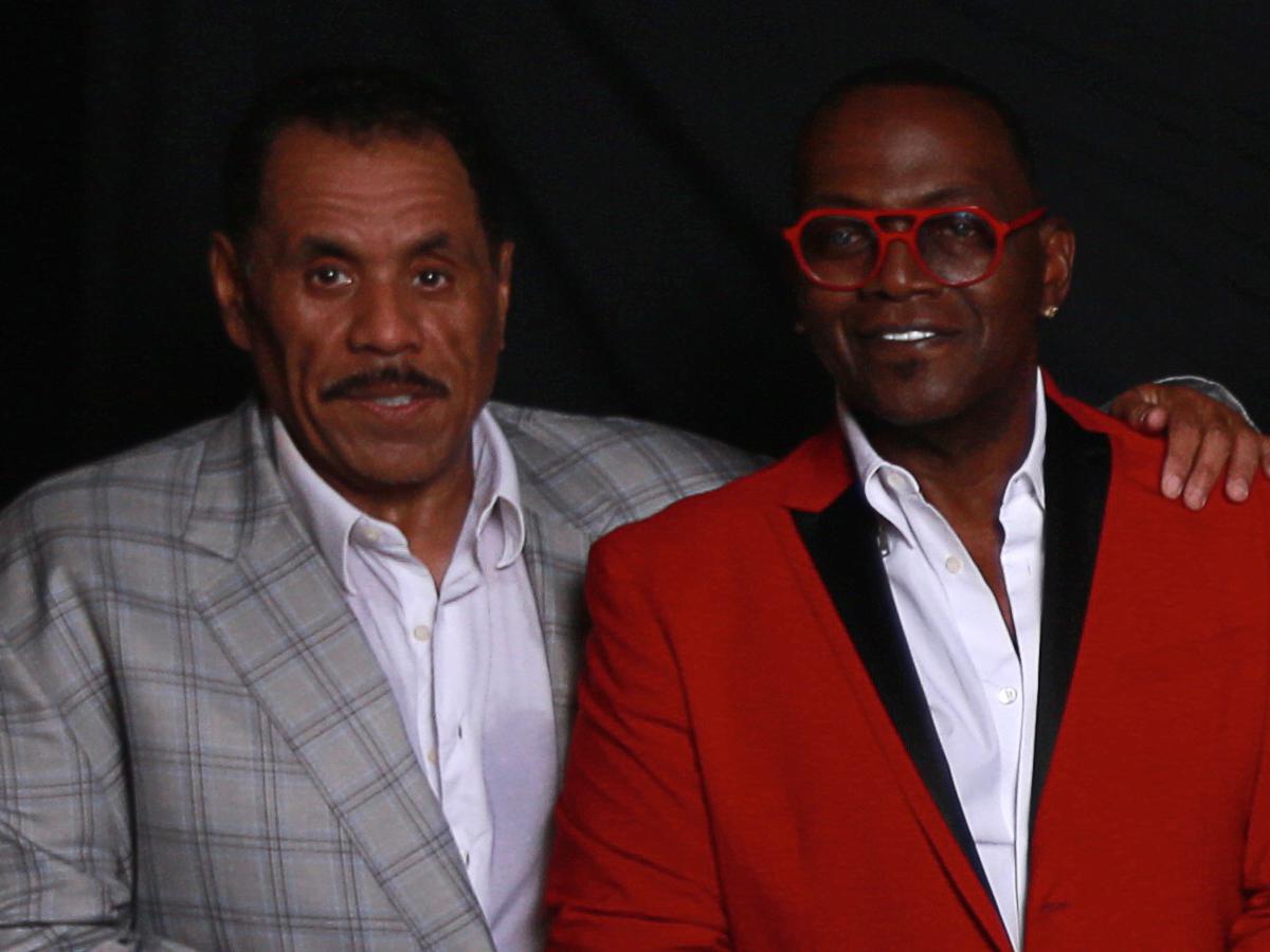 Herb with Randy Jackson