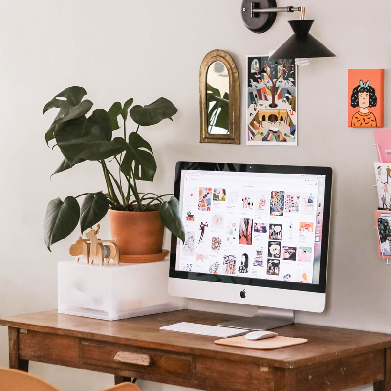 Pinterest Setup services - Untangled Virtual Solutions - Photo by Elsa Noblet on Unsplash