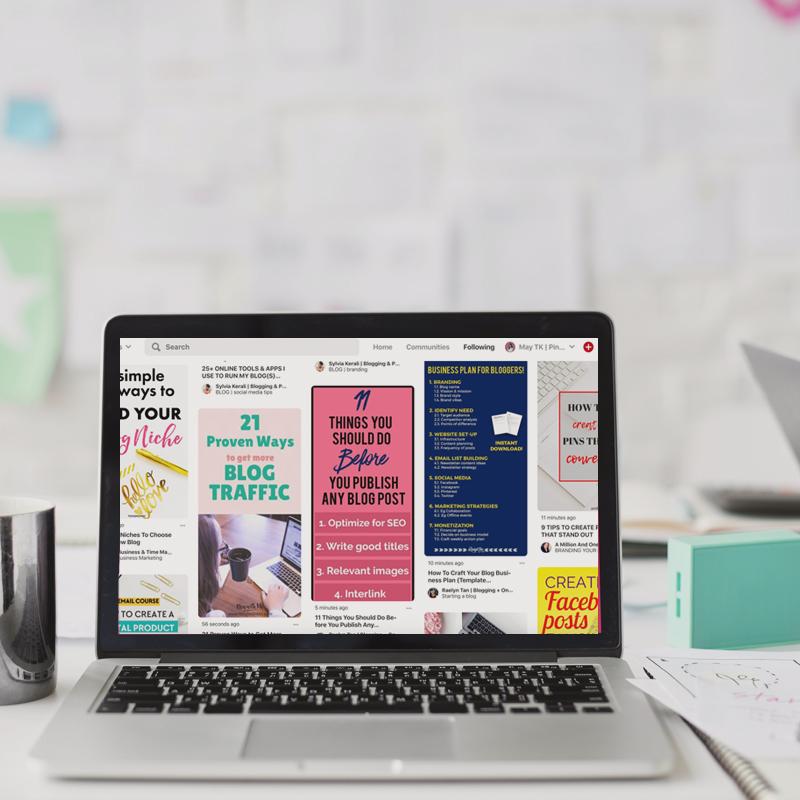 Pinterest Management Services - Untangled