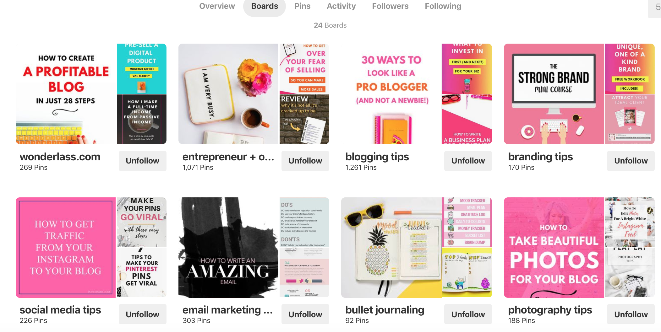 Pinterest Board Cover Ideas - Wonderlass