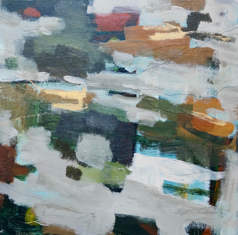 """LEGATO  12"""" x 12"""" Acrylic/Mixed Media on Canvas"""