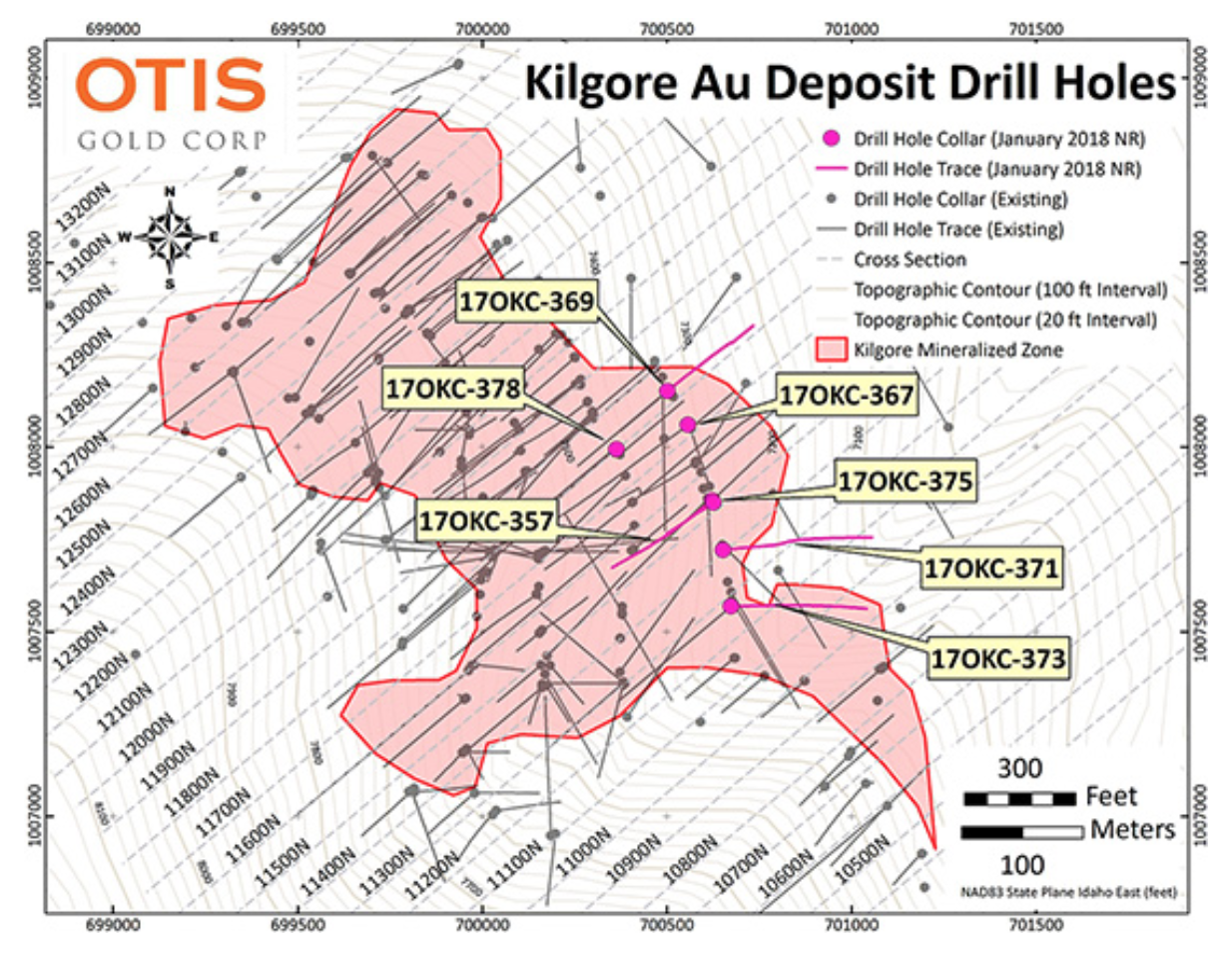 Drill Hole Location Map