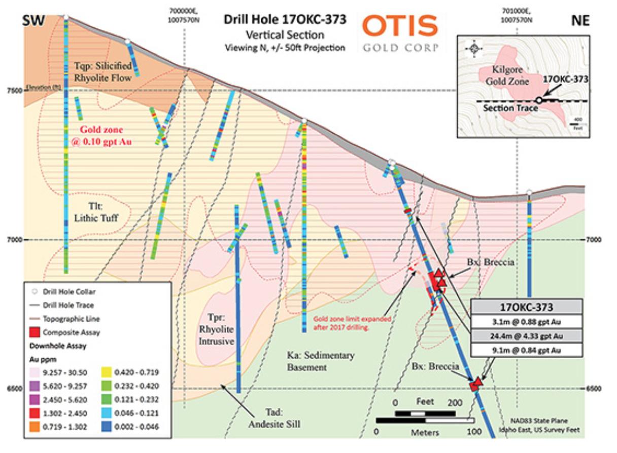 Drill Hole 17 OKC-373