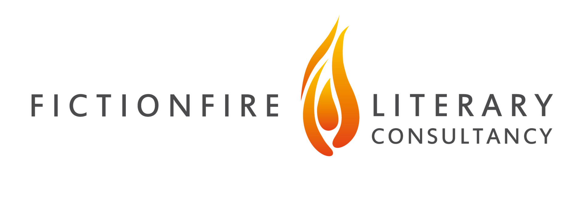 Fictionfire Literary Consultancy landscape logo with white background 1899x649 px.png