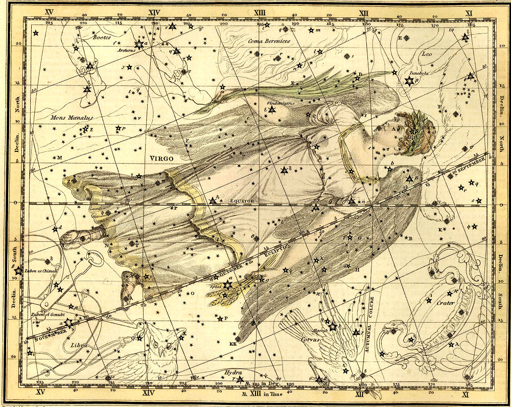 Image retrieved from http://www.peoplesguidetothecosmos.com/constellations/virgo.htm