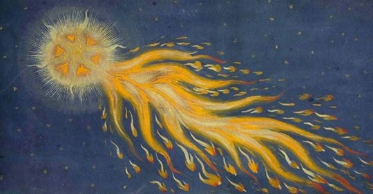 From Das Wunderzeichenbuch (The Book of Miracles). Augsburg. 1552.  image source