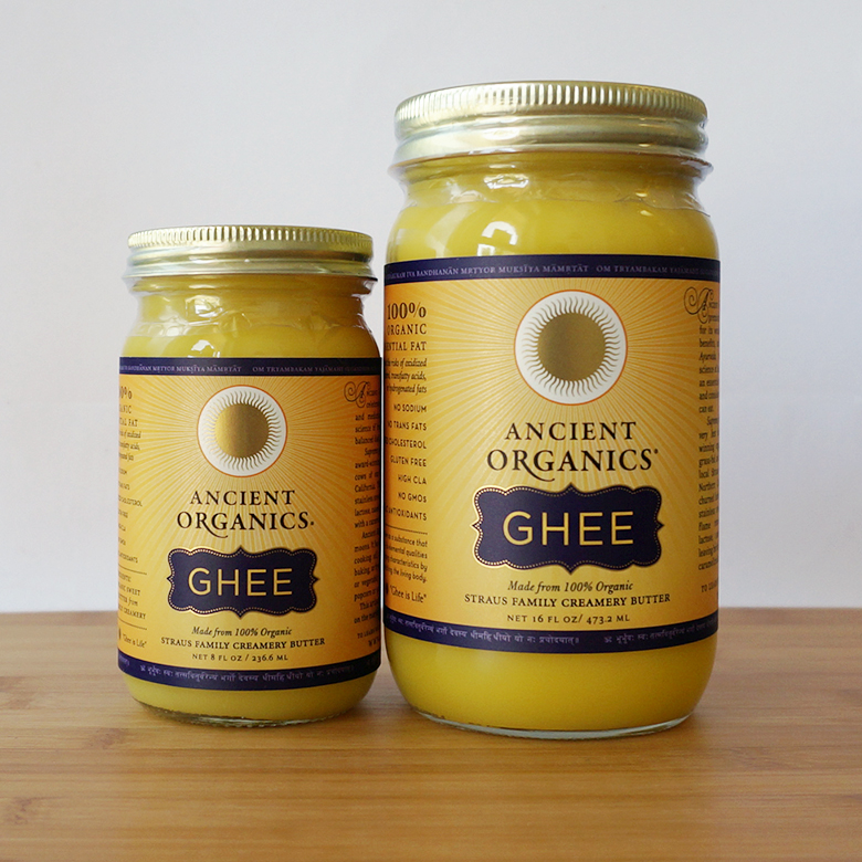 Ancient Organics Ghee Butter. If you would like to read more about the health bennifits of Ghee butter,  click here .