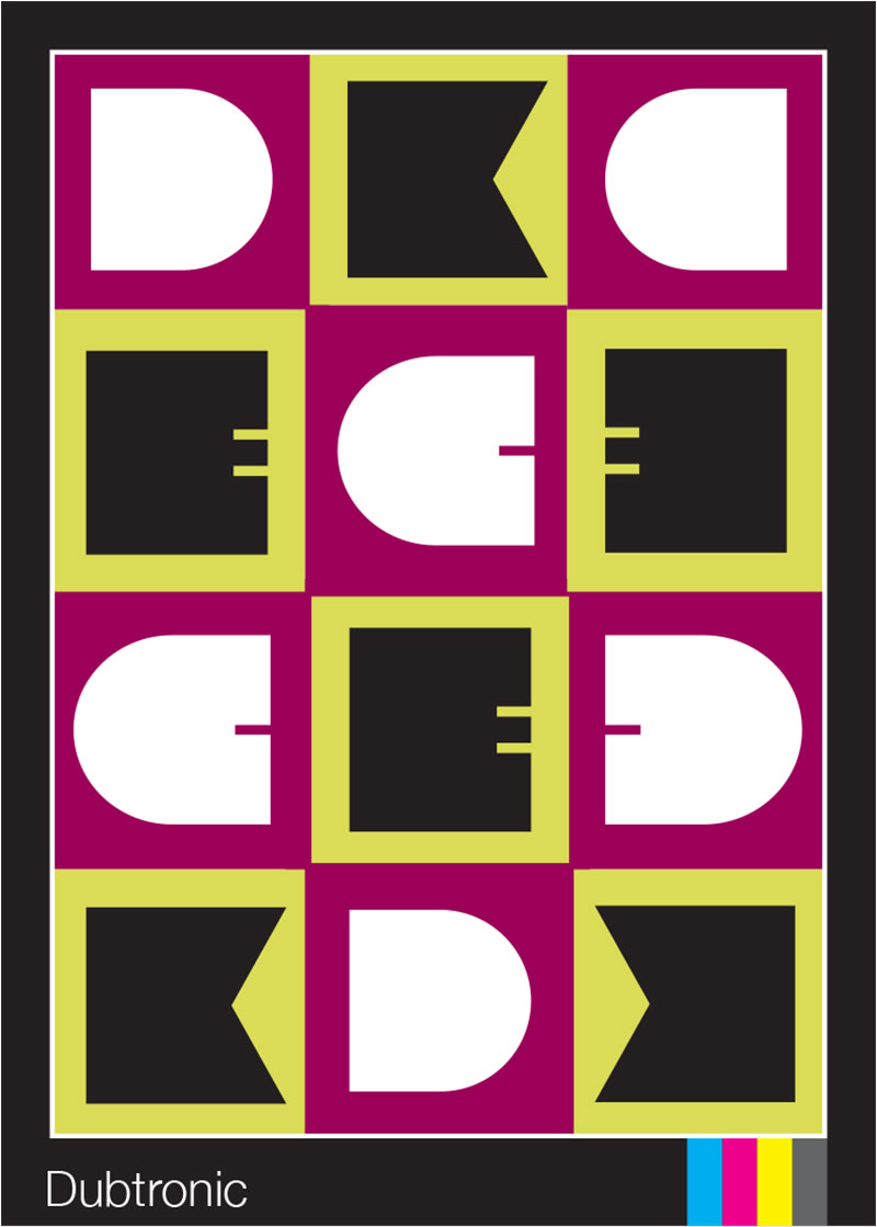 Dubtronic Playing Card