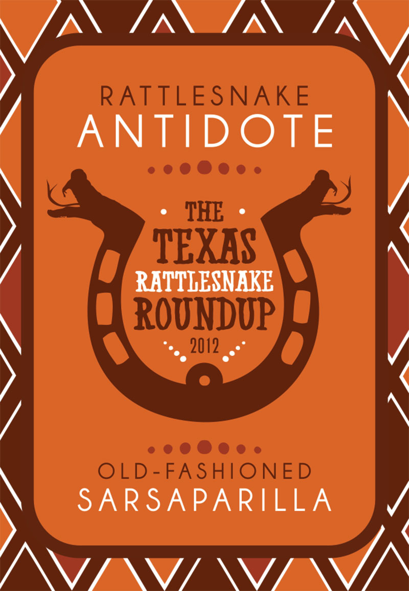 Rattle Snake Roundup Product Logo & Label Design