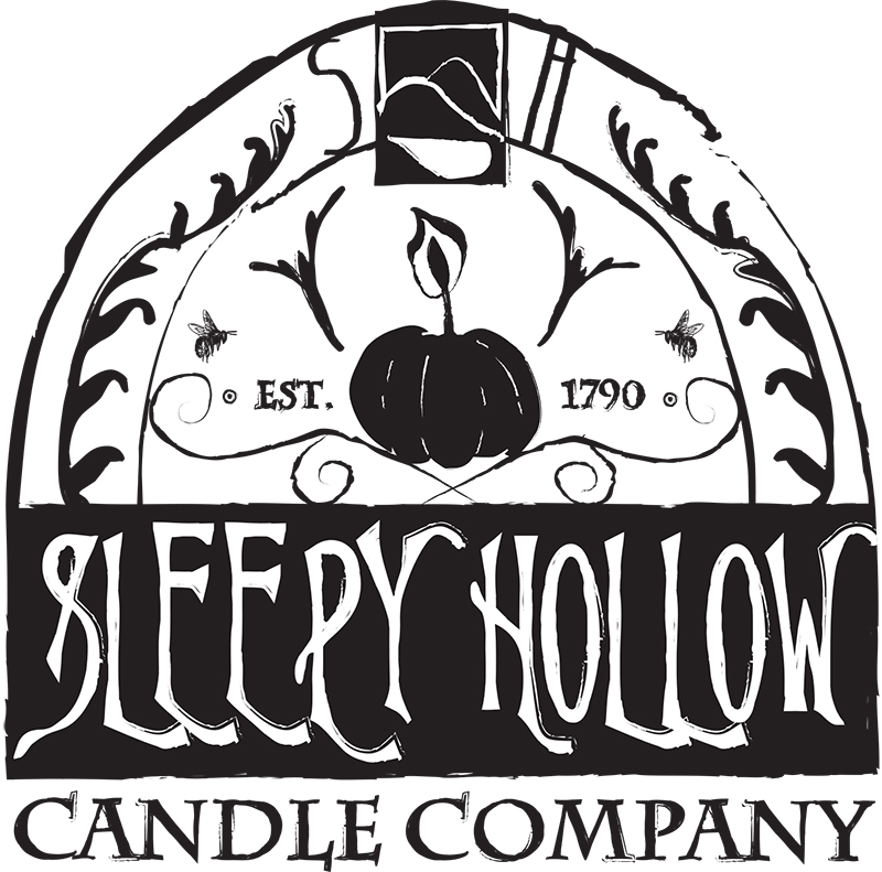 Sleepy Hollow Candle Company Logo & Label Design