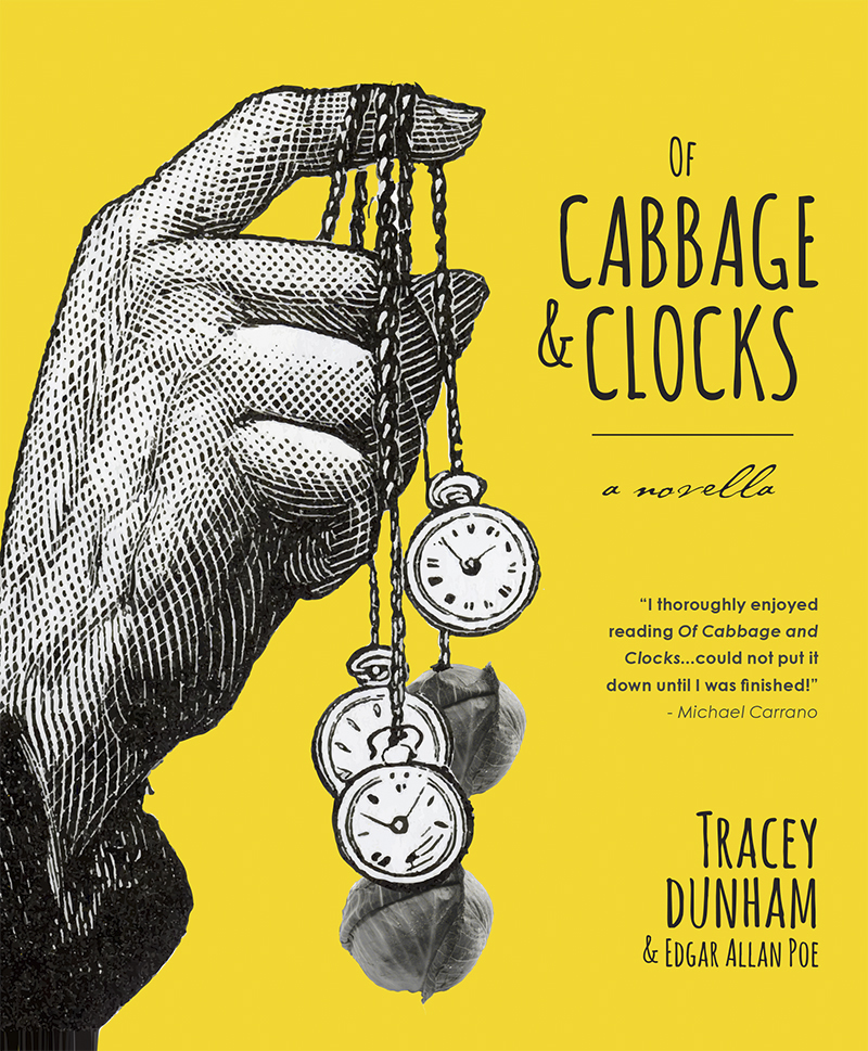 """Of Cabbage & Clocks"" Book Cover"