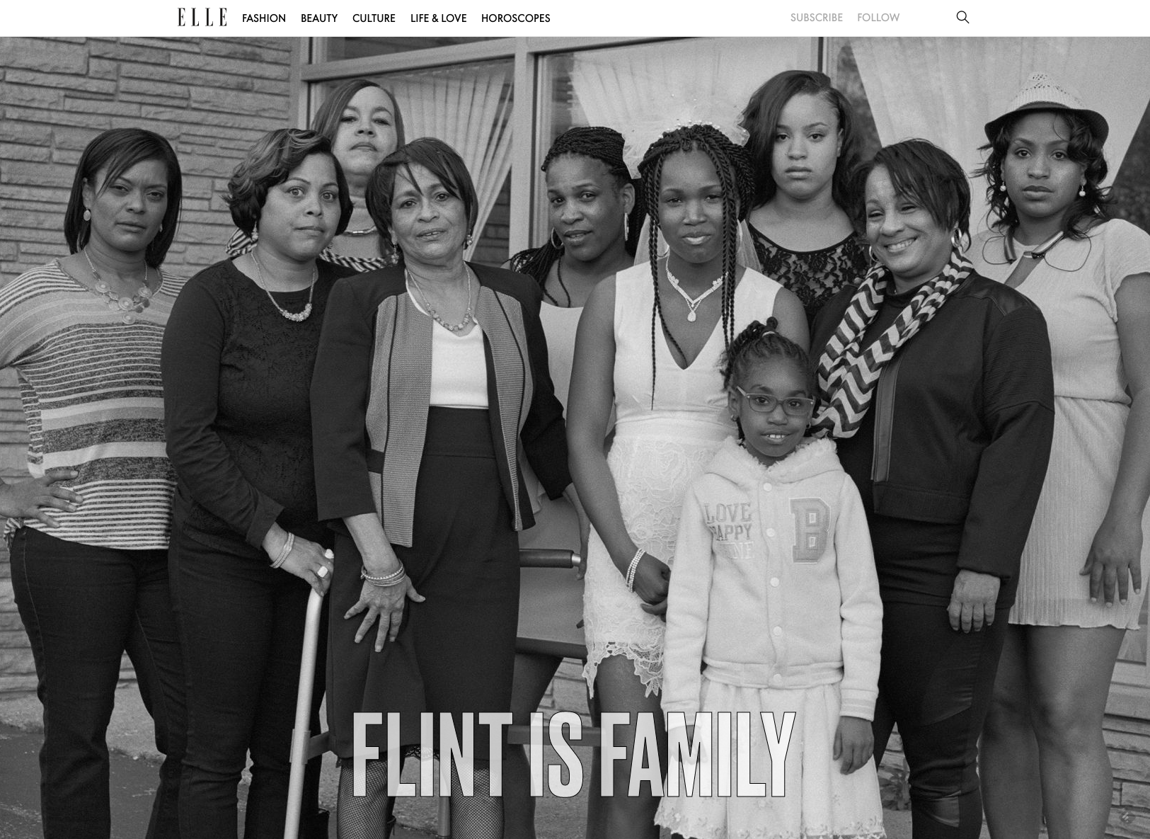 Flint is Family Longform CSS