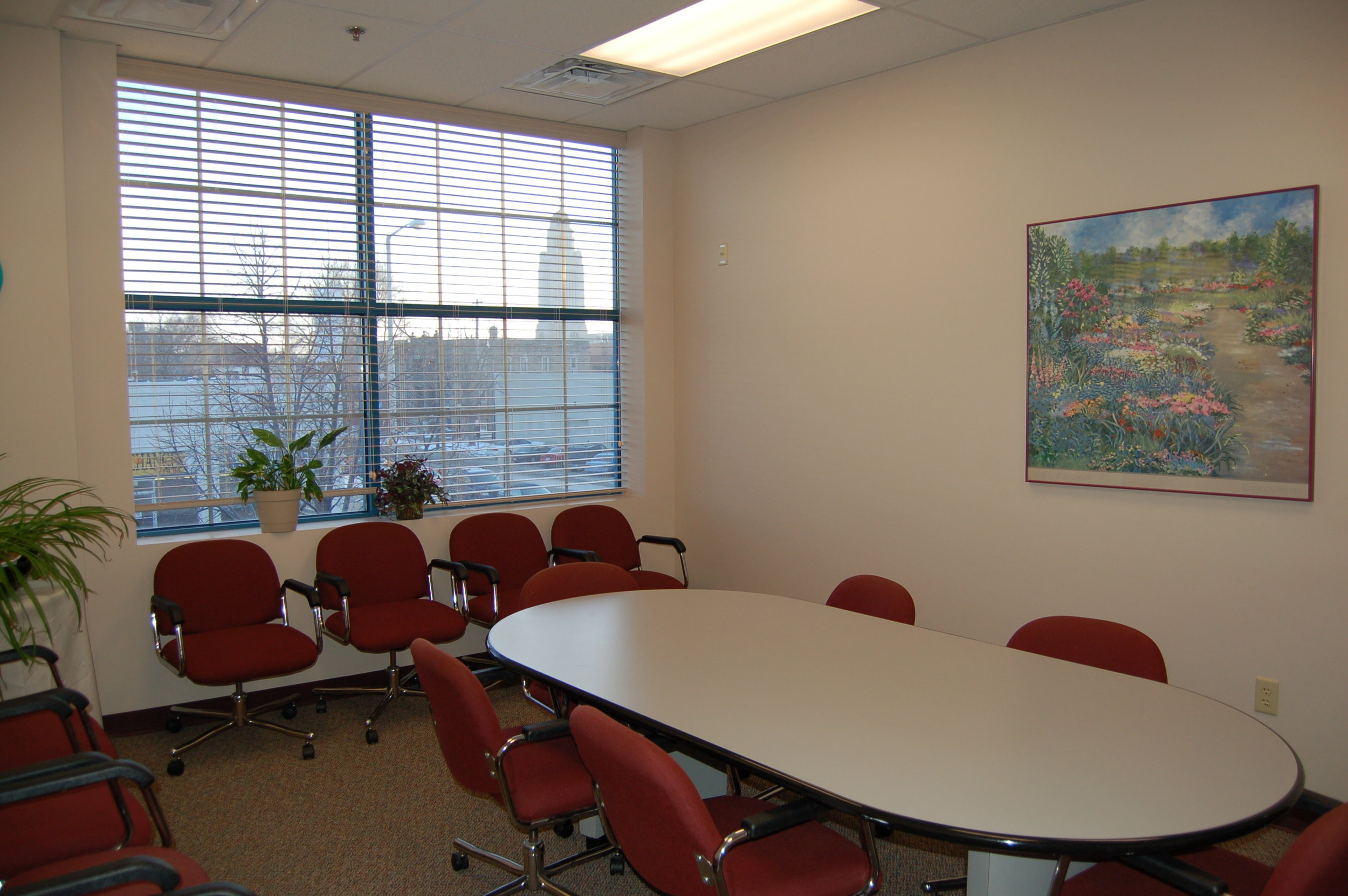 Conference room overlooking the Capital